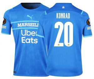 Maillot Authentique OM Third Europe Konrad 2021/2022