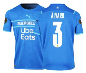 Camiseta Auténtica OM Third Europa Álvaro 2021/2022