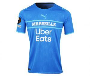 2021/2022 OM Authentic Europe Third Men's Football Shirt Lirola