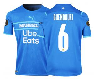 2021/2022 OM Authentic Europe Third Men's Football Shirt Guendouzi