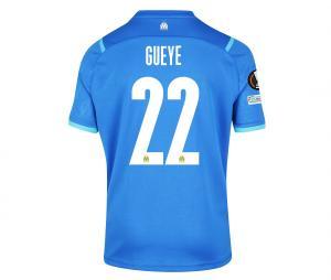 Camiseta Auténtica OM Third Europa Gueye 2021/2022