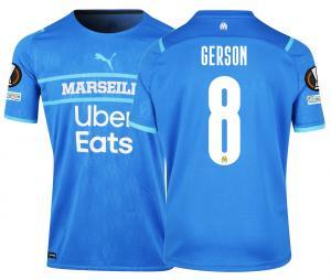Camiseta Auténtica OM Third Europa Gerson 2021/2022