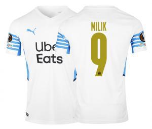 Camiseta OM Local Europa Milik 2021/2022