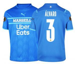 Camiseta OM Third Europa Álvaro 2021/2022