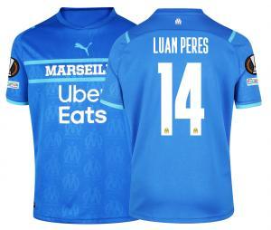 2021/2022 OM Third Men's Football Shirt Europe Luan Peres