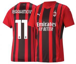 Maillot AC Milan Domicile Ibrahimović 2021/2022