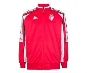 Veste Retro AS Monaco Rouge