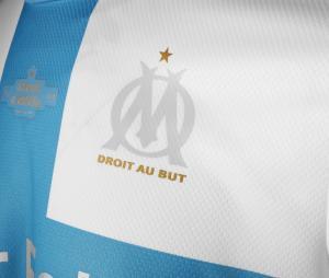 Maillot Authentic OM 120 ans 2019/20 Blanc/Bleu