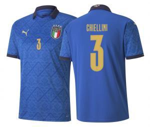 Maillot Italie Domicile Chiellini 2020/2021