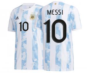Maillot Argentine Domicile Messi 2020/2021