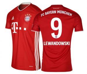 Maillot Bayern Munich Domicile Lewandowski 2020/2021