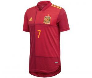 Maillot Espagne Domicile Authentique Morata Euro 2020