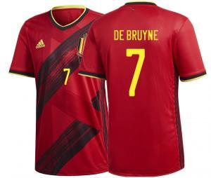 Maillot Belgique Domicile De Bruyne Euro 2020