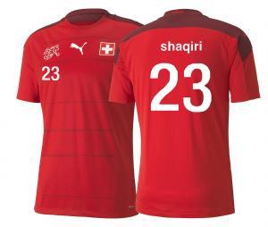 Maillot Suisse Domicile Shaqiri 2020/2021