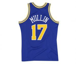 Maillot Golden State Warriors Mullin numéro 17 1993/94 Bleu