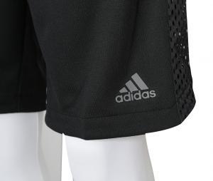 Short adidas Electric 2 en 1 Noir/Blanc