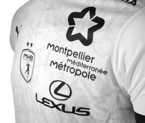 Maillot Montpellier Herault Handball Extérieur 2020/2021