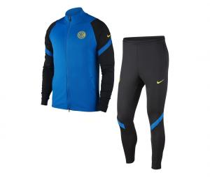 Survêtement Inter Milan Strike Noir/Bleu