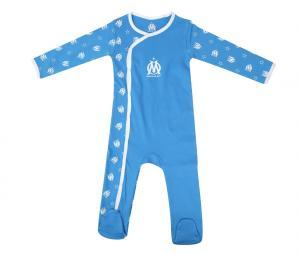 Grenouillère OM Bleu Bébé
