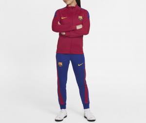 Survêtement Barça Academy Pro Rouge/Bleu Junior