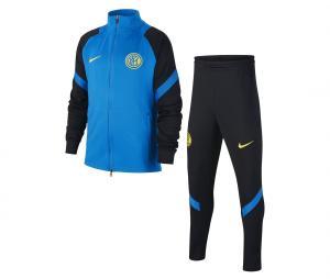 Survêtement Inter Milan Strike Noir/Bleu Junior