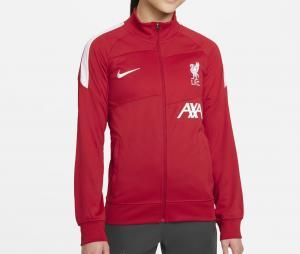 Survêtement Liverpool Academy Pro Rouge/Gris Junior