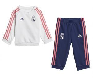 Baby Jogger Real Madrid 3-Stripes Blanc/Bleu