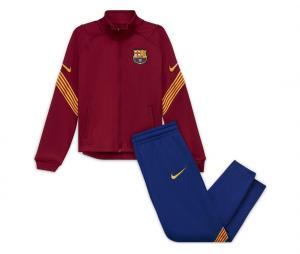 Survêtement Barça Strike Rouge/Bleu Junior