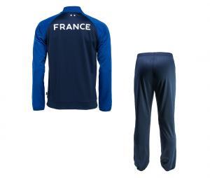 Survêtement France Fan Bleu Junior