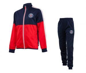 Survêtement PSG Bleu/Rouge Junior