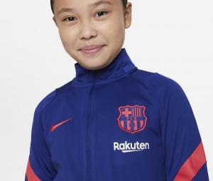 Survêtement Barça Strike Bleu Junior