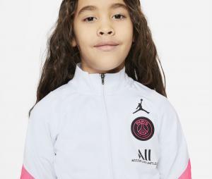 Survêtement Jordan x PSG Strike Blanc/Noir Junior