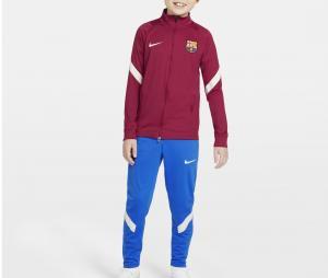 Survêtement Entraînement Barça Strike Rouge/Bleu Junior