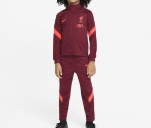 Survêtement Entraînement Liverpool Strike Rouge Junior