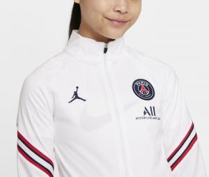 Survêtement Entraînement Jordan x PSG Strike Blanc/Bleu Junior