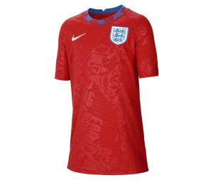 Maillot Pré-Match Angleterre Rouge Junior