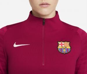 Training top Barça Strike Rouge Femme