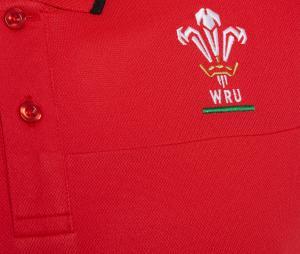 Polo Pays de Galles Travel Rouge