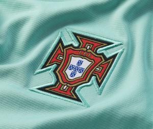 Maillot Entraînement Portugal Strike vert Junior