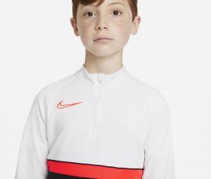 Training Top Nike Academy 21 Blanc/Noir Junior
