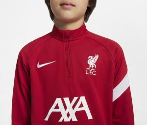 Training Top Liverpool Academy Pro Rouge Junior