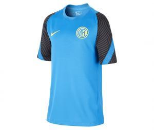 Maillot Entraînement Inter Milan Strike Bleu Junior