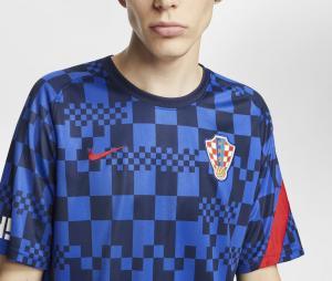 Maillot Pré-Match Croatie Bleu