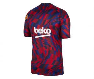 Maillot Pré-Match Barça Rouge/Bleu Junior
