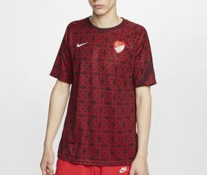 Maillot Pré-Match Turquie Rouge