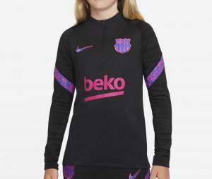 Training top Barça Strike Noir Junior