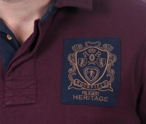 Polo Manches Longues Ruckfield Rugby Héritage Rouge