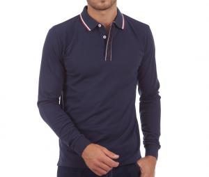 Polo Manches Longues Camberabero Authentic Bleu