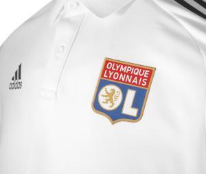 Polo OL Blanc Junior