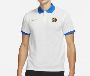 Polo Inter Milan Blanc